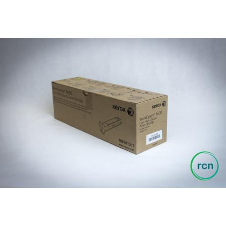 Cyan toner- WC 6400 - 106R01317